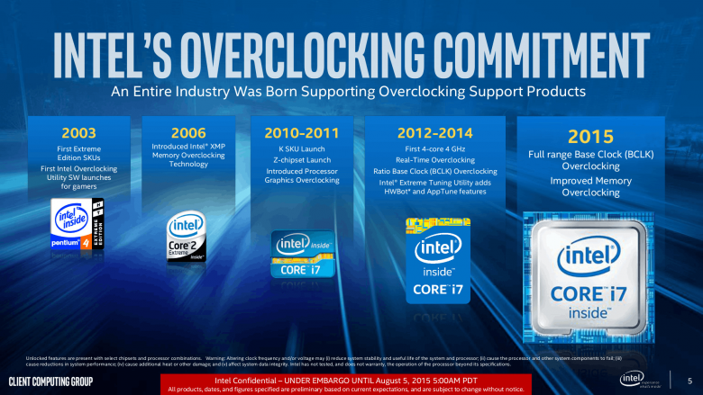 Intel Skylake Core I 7 6700 K I 5 6600 K 05