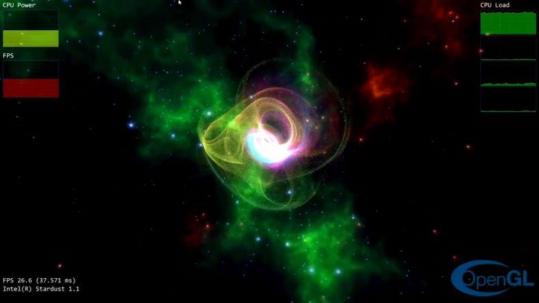 Intel Stardust Opengl