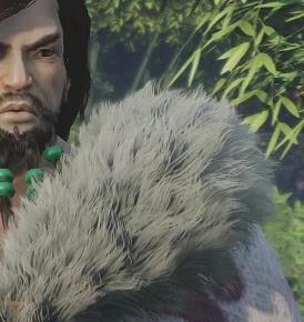 King Of Wushu Hairworks Fur W