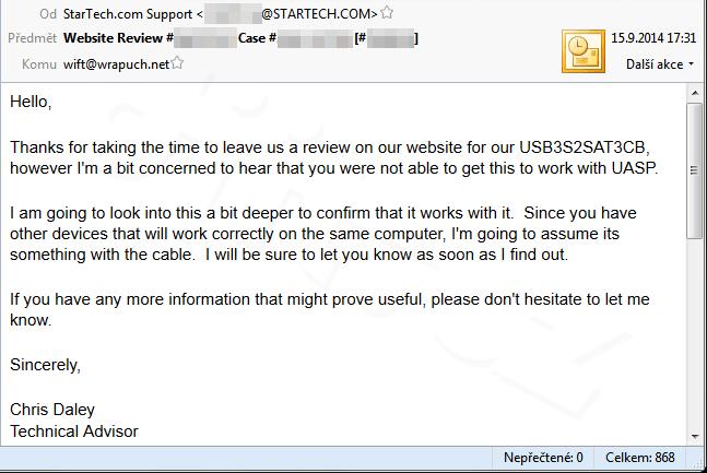 Mail Od Startech 1