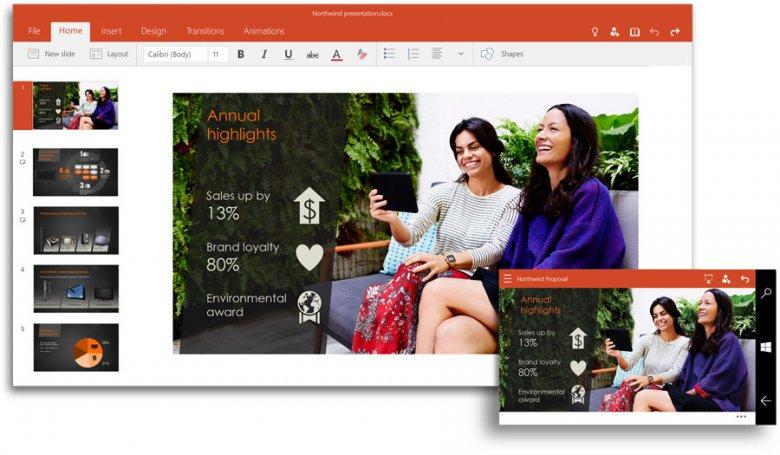 Microsoft Office 2016 Powerpoint