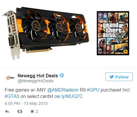 Newegg Radeon R 9 290 290 X Gta V Bundle
