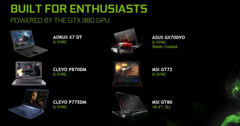 Nvidia Geforce Gtx 980 Laptop Laptops