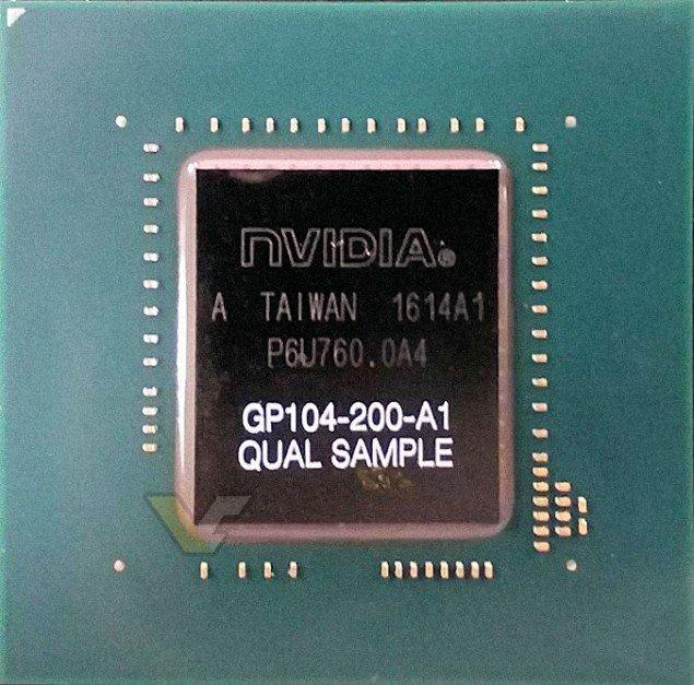 Nvidia Pascal Gp 104 Gpu