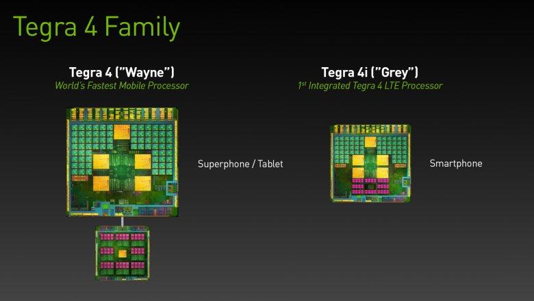 Nvidia Tegra 4i vs Tegra 4