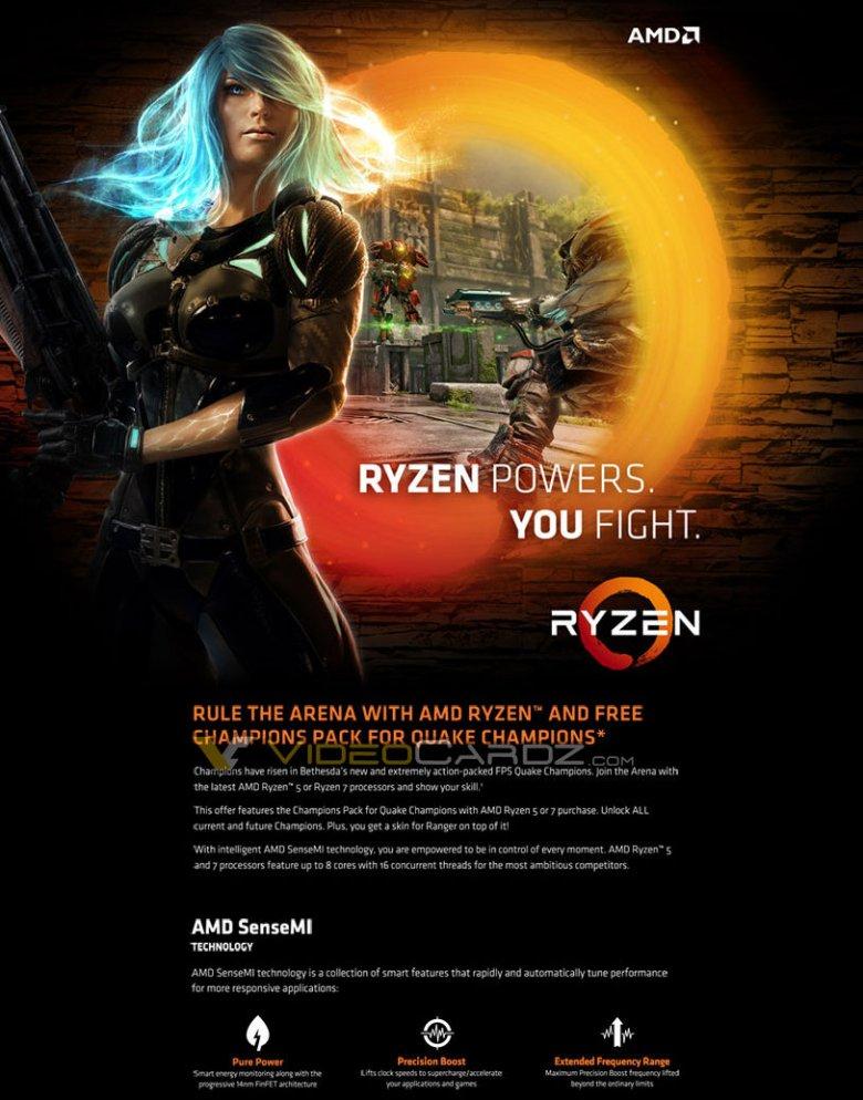 Quake Champions Ryzen