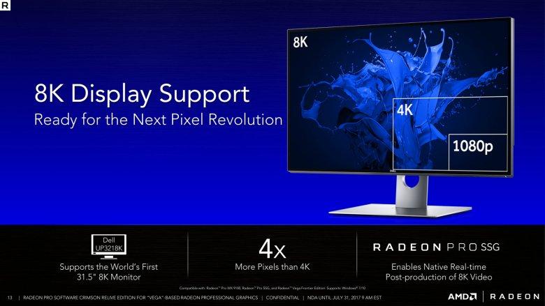 Radeon Pro Software Crimson Relive For Vega 13