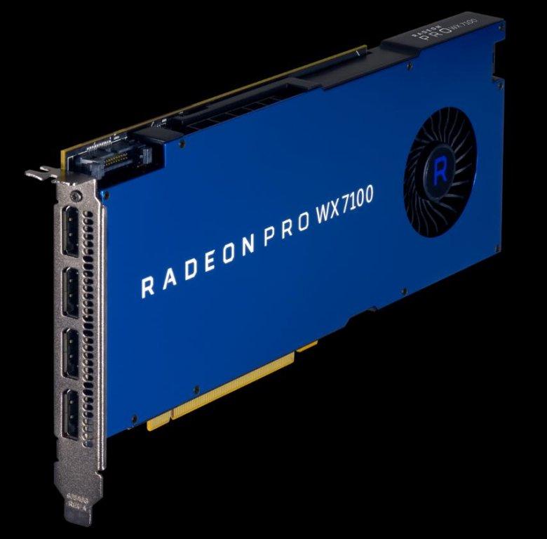 Radeon Pro Wx 7100 0