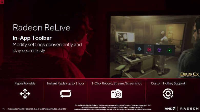 Radeon Software Crimson Relive 71