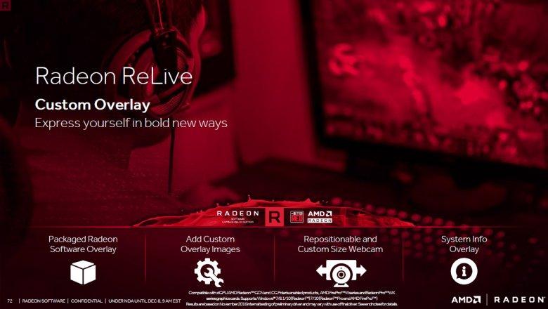 Radeon Software Crimson Relive 72
