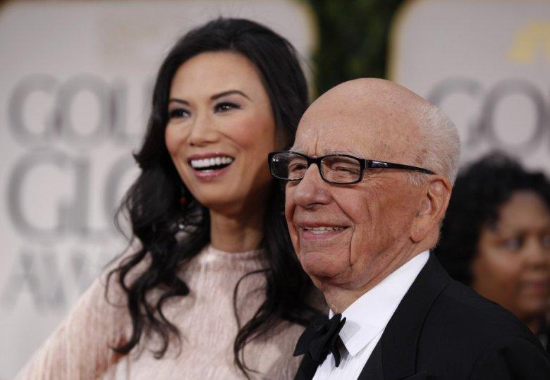 Rupert Murdoch Deng Wendi