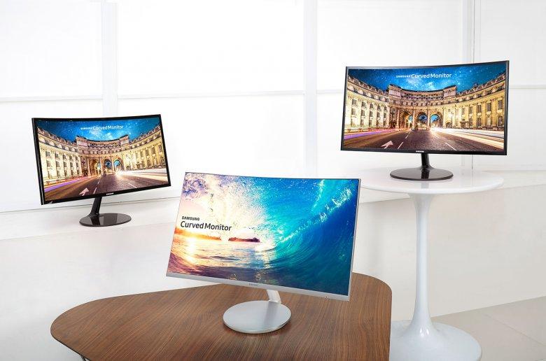 Samsung Cf 591 Cf 390 Curved Monitors