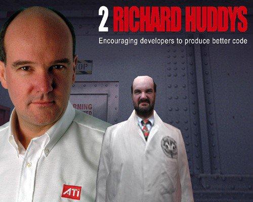 Two Richard Huddys