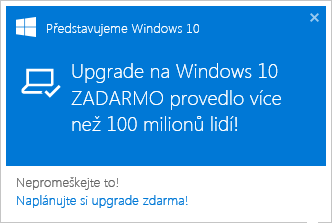 Windows 10 Zadarmo