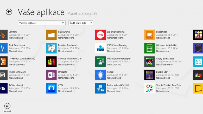 Windows Store - Vaše aplikace