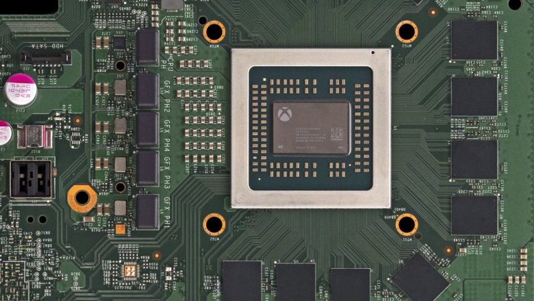 Xbox Scorpio Motherboard