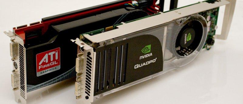 ATI FireGL + nVidia Quadro