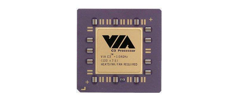 VIA C3 Nehemiah 1 GHz