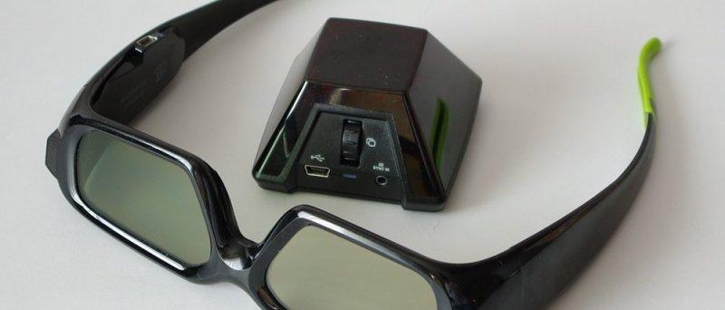 Nvidia 3D Vision: brýle s vysílačem