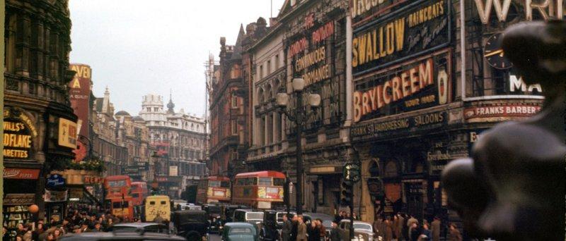 Kodak Kodachrome: Londýn 1949
