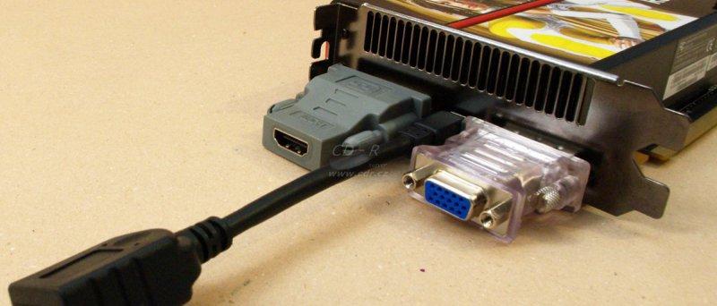 Sapphire Radeon HD 5970: výstupy