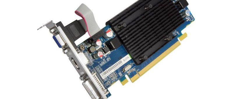 Sapphire Radeon HD 5450 512MB DDR2