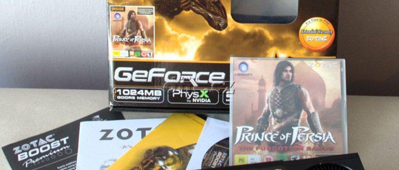 Zotac GeForce GTX 460: obsah balení