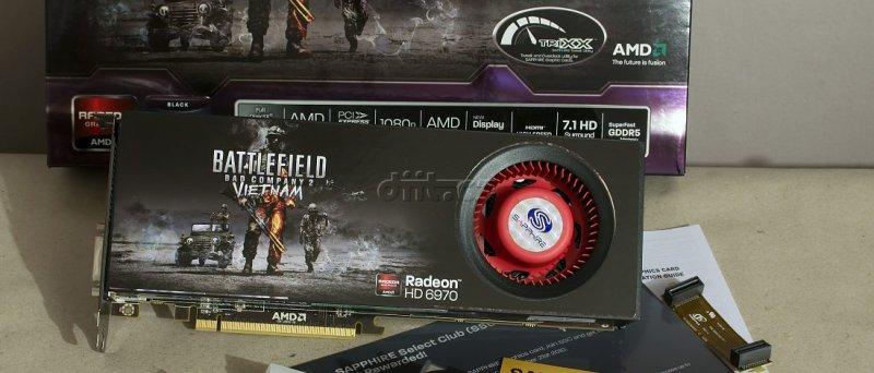 Radeon HD 6970: kompletní balení Sapphire
