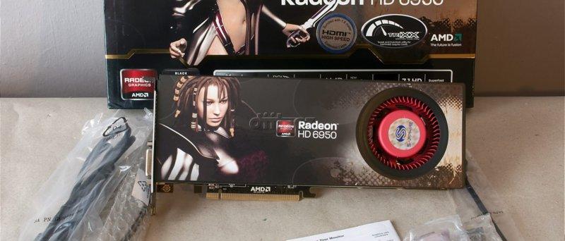 Radeon HD 6950: balení Sapphire