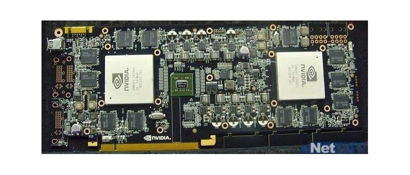 údajná GeForce GTX 590