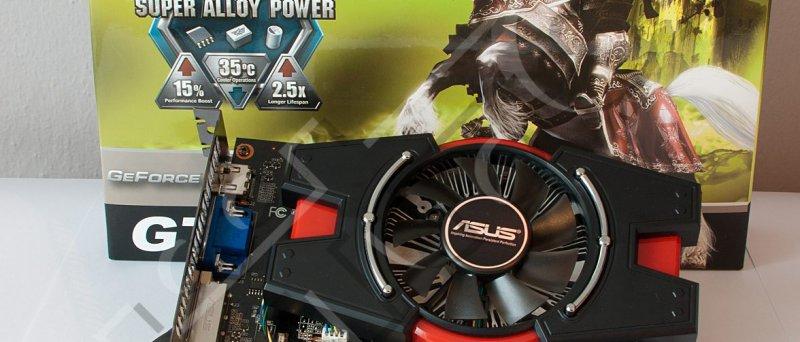 GeForce GT 440: balení Asus