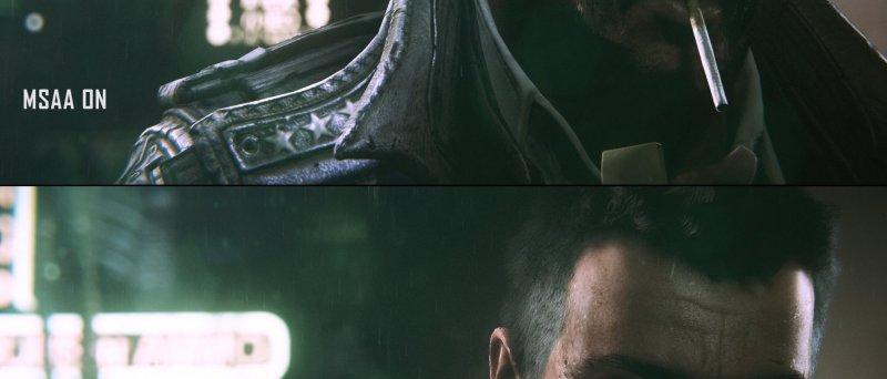 Unreal Engine: MSAA