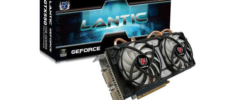 Lantic GeForce GTX 550 Ti