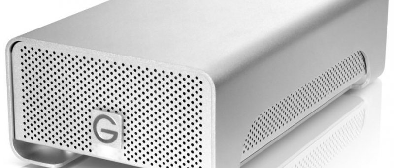 8TB úložiště G-technology se 4TB disky Hitachi