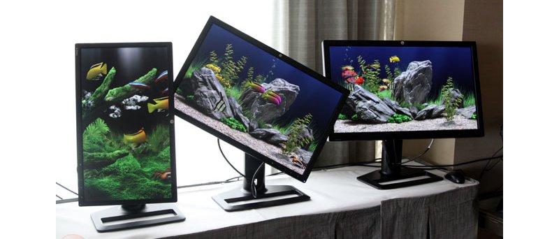 HP nové IPS LED monitory (09/2011)