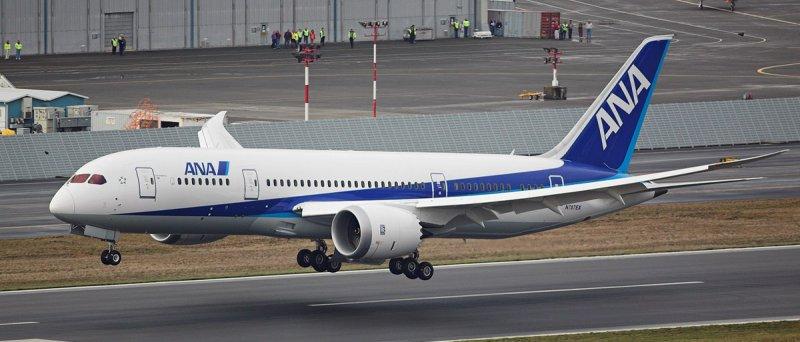 Boeing 787 Dreamliner v barvách ANA