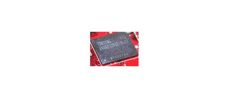 Samsung GDDR4 K4U52324QE-BC09