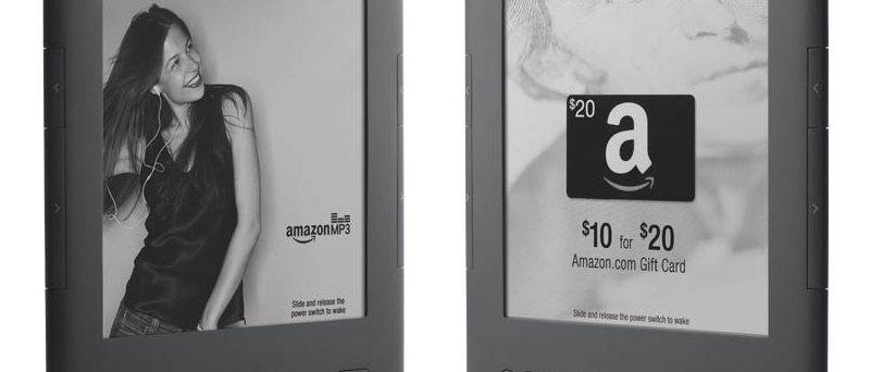 Amazon Kindle s nabídkami slev