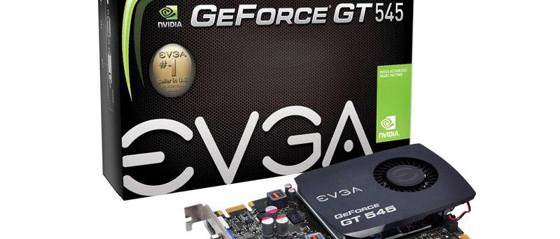 EVGA GeForce GT 545 balení