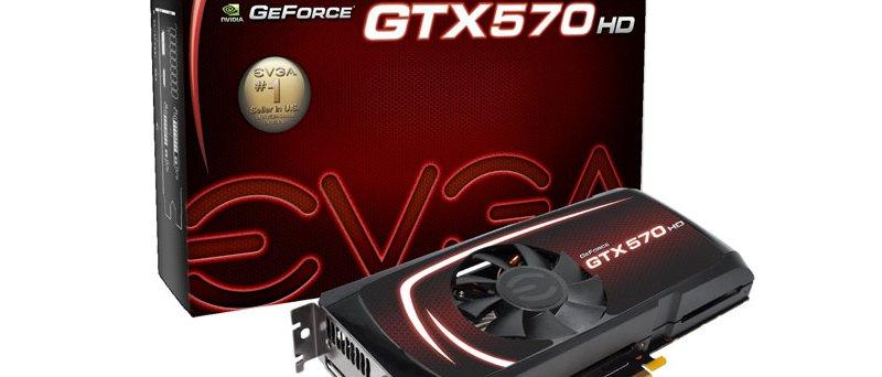 EVGA GeForce GTX 570 HD 2560MB balení
