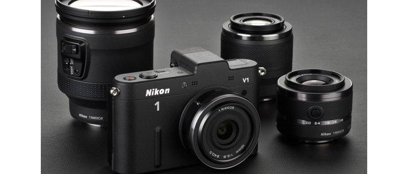 Nikon 1 V1 s objektivy
