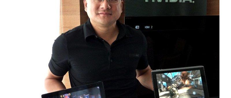 Nvidia Jen Hsun Huang a tablety