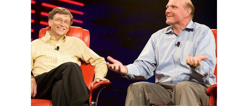 Bill Gates a Steve Ballmer na D:All Things Digital conference (2
