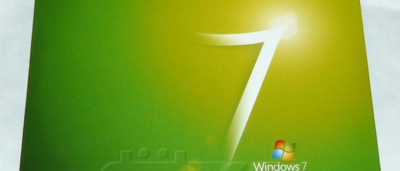 Acer Windows 7 Upgrade kit - obal médií (přední strana)