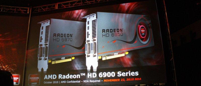 Prezentace AMD Radeonů HD 6900