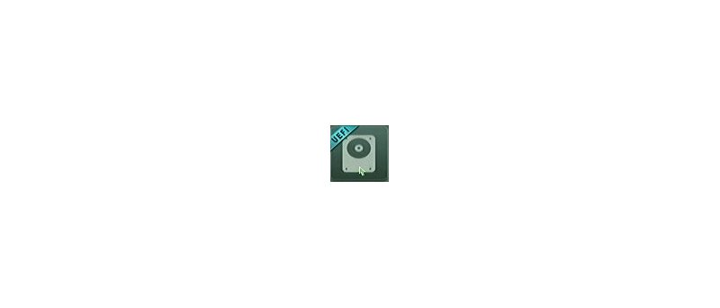 Ikonka UEFI disku