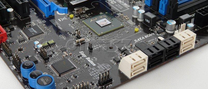 MSI P67A-GD65: SATA porty, čipset (+ chlazení)