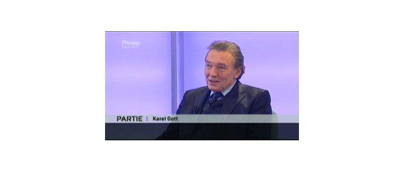 Karel Gott v pořadu Partie na TV Prima