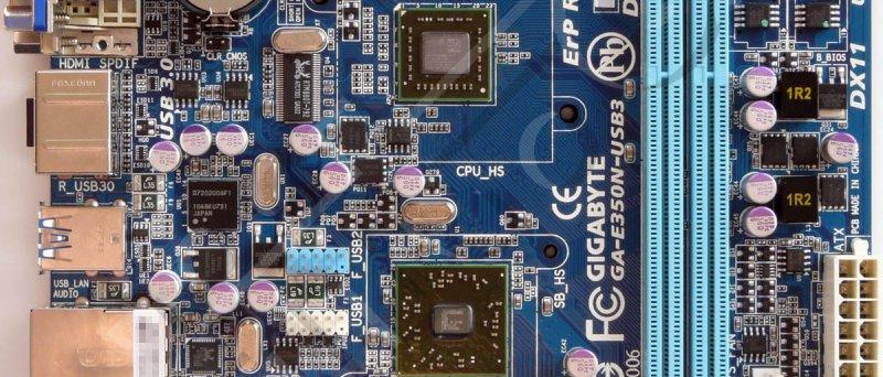 Gigabyte GA-E350N-USB3 (bez chlazení)