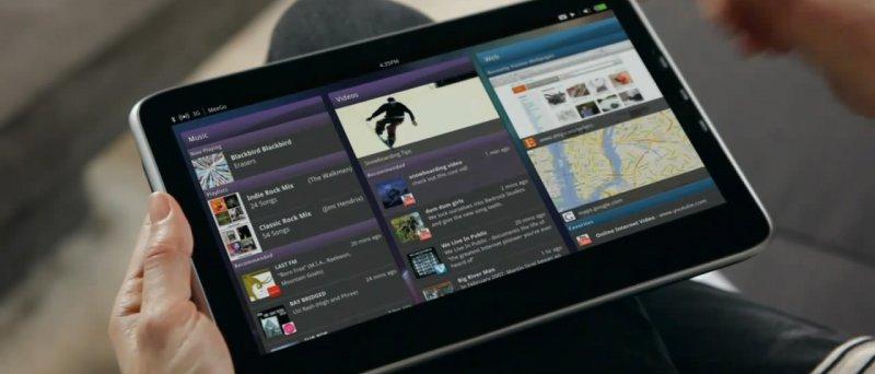 MeeGo tablet s Intel Tablet User Experience rozhraním